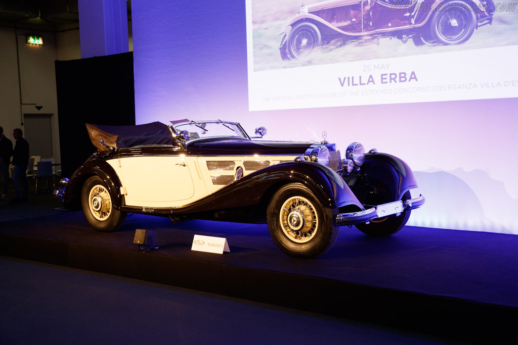 Mercedes-Benz 540 K Cabriolet A - Chassis: 154078  - 2019 Techno Classica