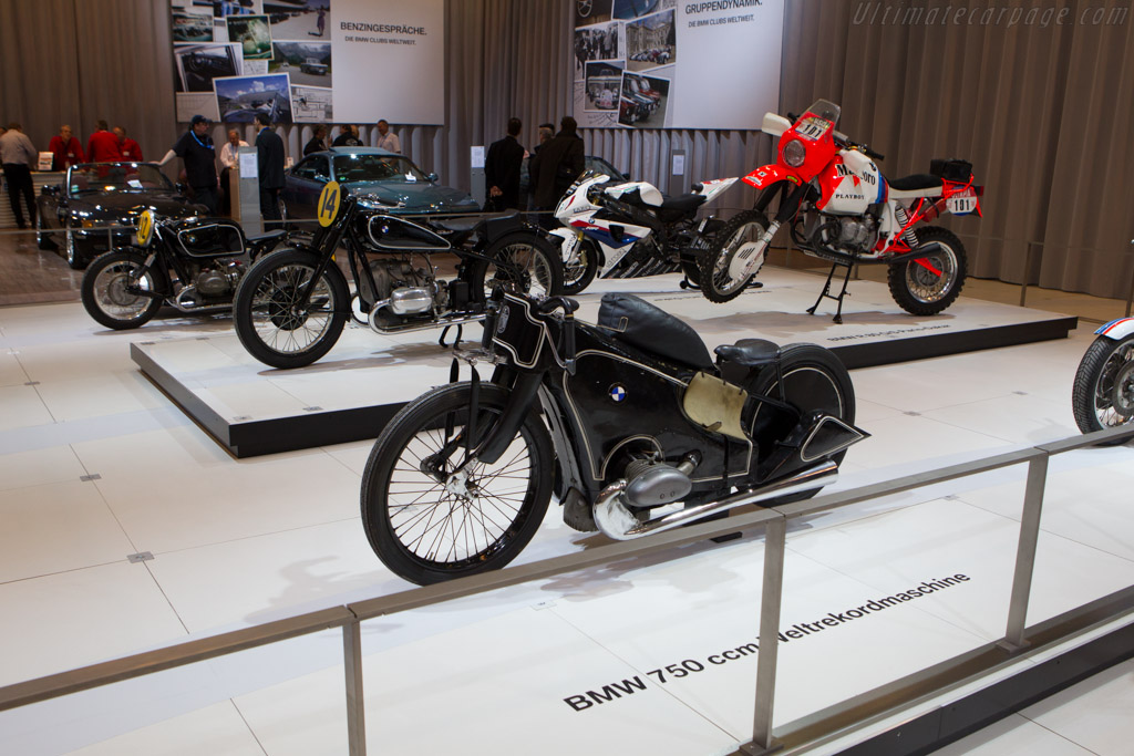 BMW Motorcycles    - 2013 Techno Classica
