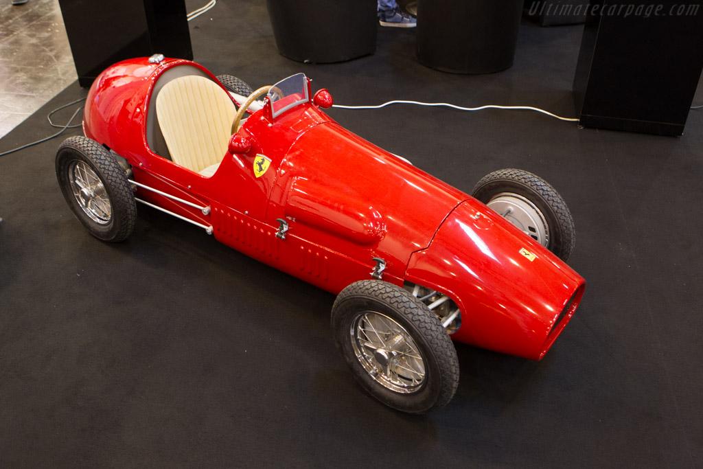 Ferrari 500 F2 Pedal Car 2013 Techno Classica