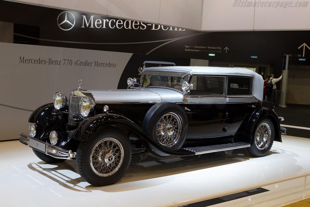 Mercedes-Benz 770 Grosser    - 2013 Techno Classica