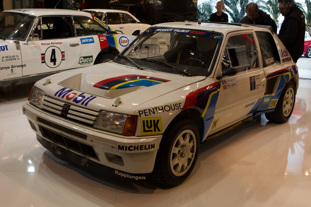 Peugeot 205 T16 Group B    - 2013 Techno Classica