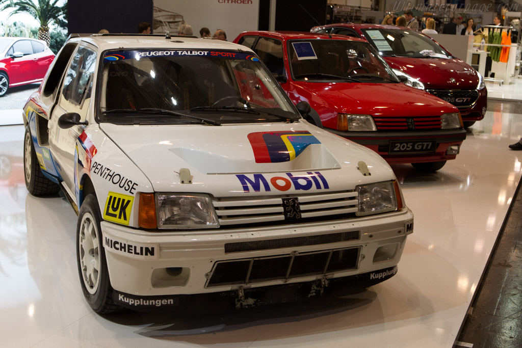 Peugeot 205 T16 Group B    - 2013 Techno Classica
