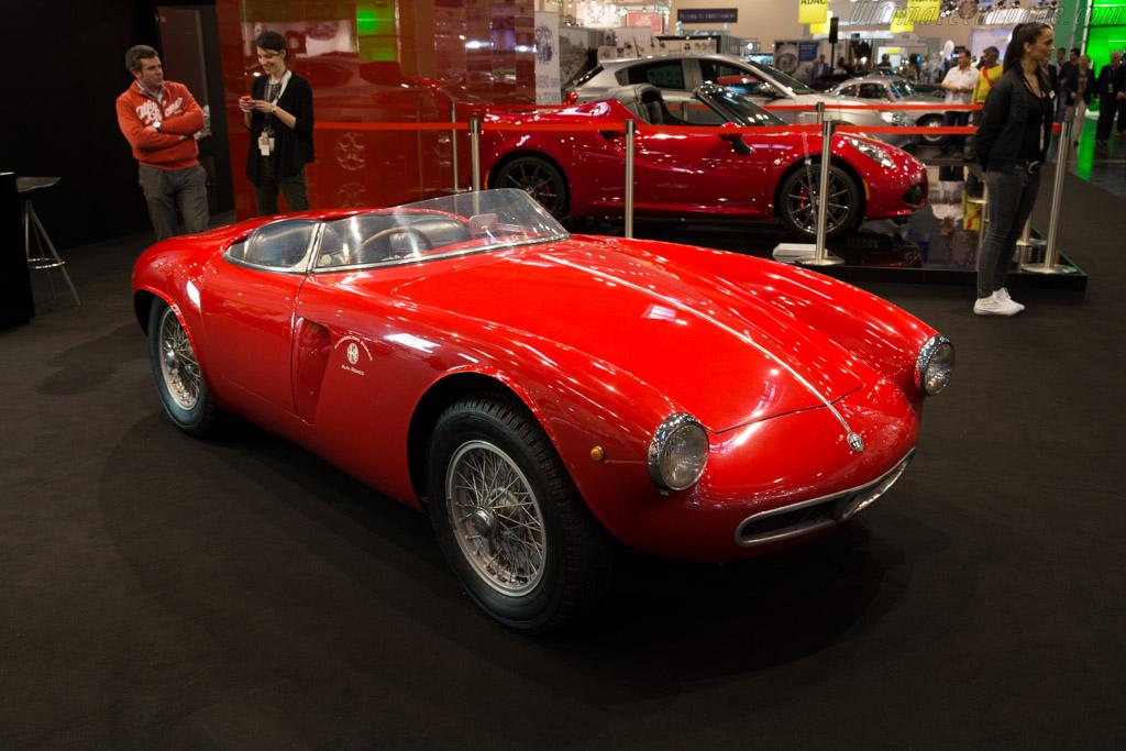 Alfa Romeo 1900 Sport Spider - Chassis: AR1900S 00002 - Entrant: Alfa Romeo Museo Storico  - 2015 Techno Classica