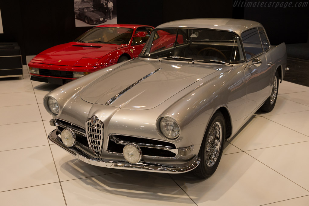 Alfa Romeo 1900C SS Ghia-Aigle Coupe - Chassis: AR1900C 10439 - Entrant: Opus Collection - 2015 Techno Classica