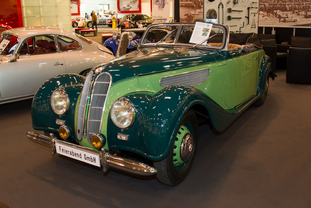 BMW 327-8 Cabriolet - Chassis: 87488   - 2015 Techno Classica