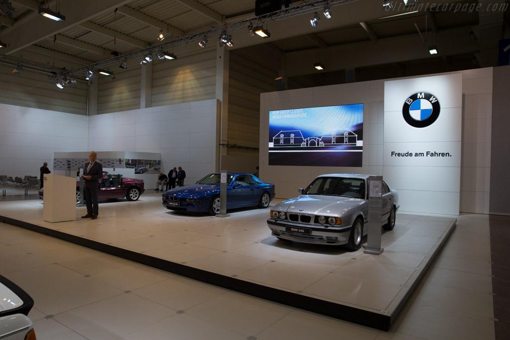 BMW 540i  - Entrant: BMW Group  - 2015 Techno Classica