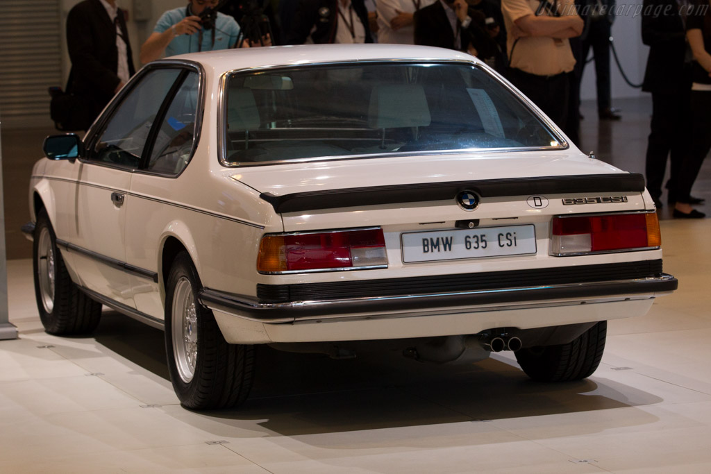 BMW 635 CSi  - Entrant: BMW Group  - 2015 Techno Classica