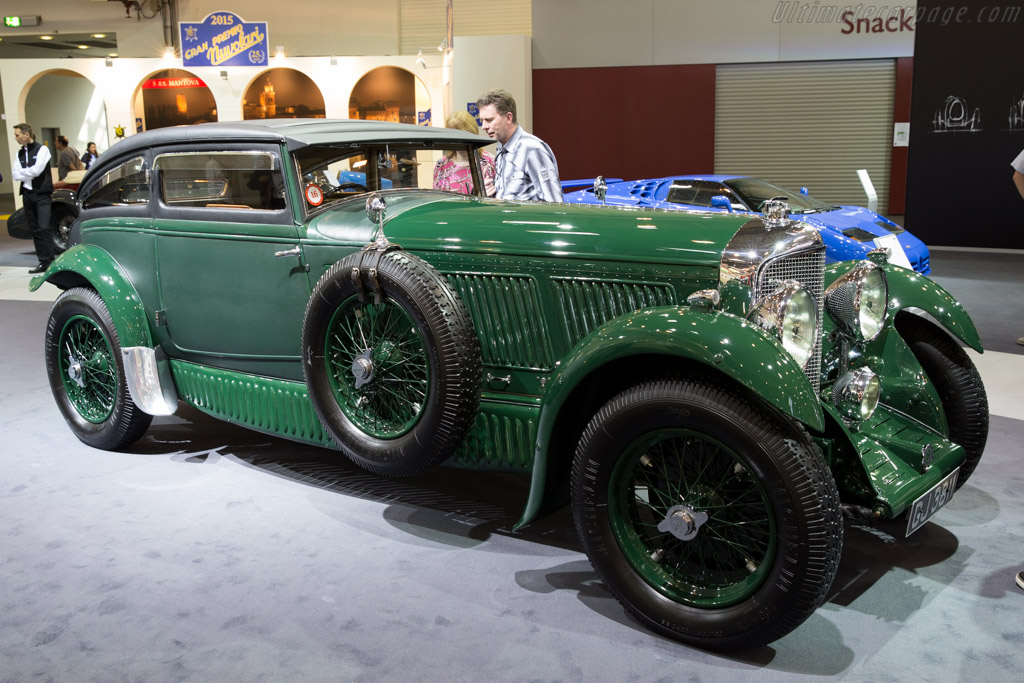 Bentley Speed Six Blue Train Chassis Hm2855 Entrant