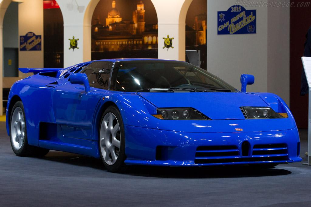 Bugatti EB110 SS - Chassis: ZA9AB01S0PCD39012 - Entrant: Bugatti Automobiles  - 2015 Techno Classica