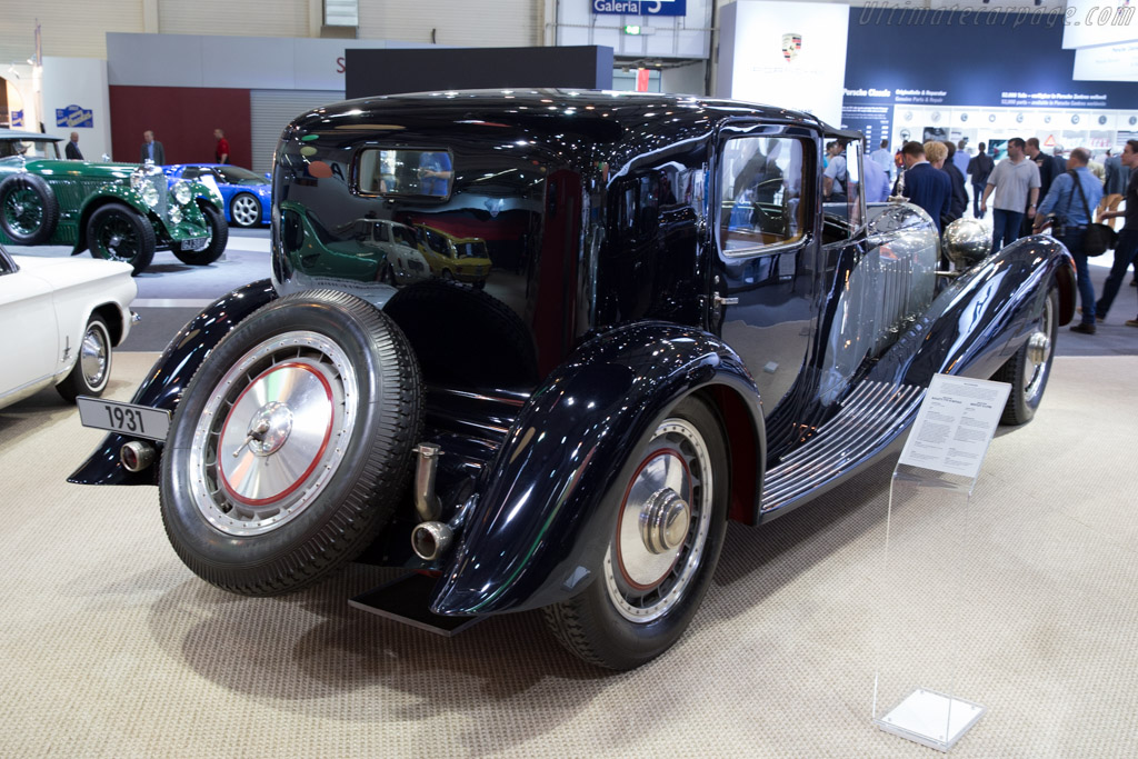 Bugatti Type 41 Royale Binder Coupe de Ville - Chassis: 41111 - Entrant: Autostadt  - 2015 Techno Classica