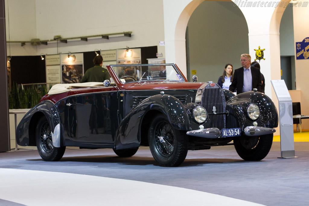 Bugatti Type 57 C Gangloff Stelvio - Chassis: 57715 - Entrant: Bugatti Automobiles  - 2015 Techno Classica