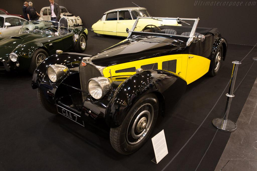Bugatti Type 57 S Corsica Roadster - Chassis: 57491 - Entrant: Lukas Hüni  - 2015 Techno Classica