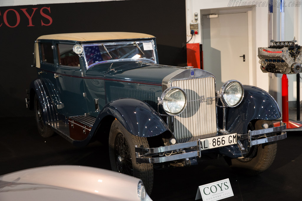 Isotta Fraschini 8A Sala - Chassis: 1679 - Entrant: Coys  - 2015 Techno Classica