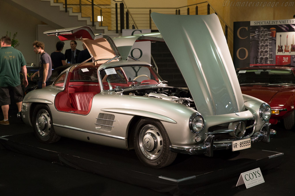 Mercedes-Benz 300 SL Coupe - Chassis: 198.040.5500318 - Entrant: Coys  - 2015 Techno Classica