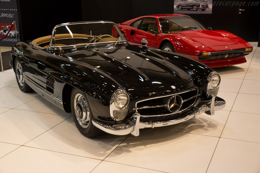 Mercedes benz 300 sl roadster entrant opus collection for 2015 mercedes benz sl