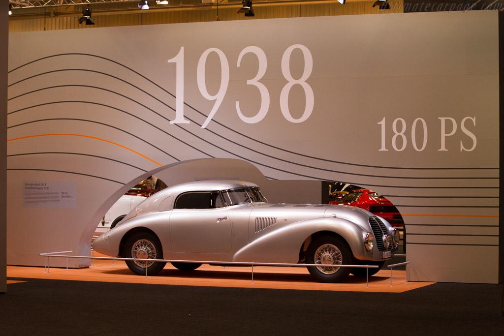 Mercedes-Benz 540K Streamliner - Chassis: 189399 - Entrant: Mercedes-Benz Classic  - 2015 Techno Classica