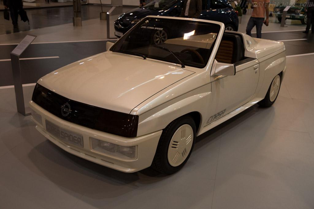 Opel Corsa Spider  - Entrant: Opel  - 2015 Techno Classica