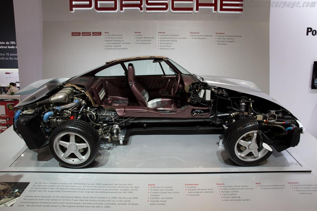 Porsche 959  - Entrant: Porsche  - 2015 Techno Classica