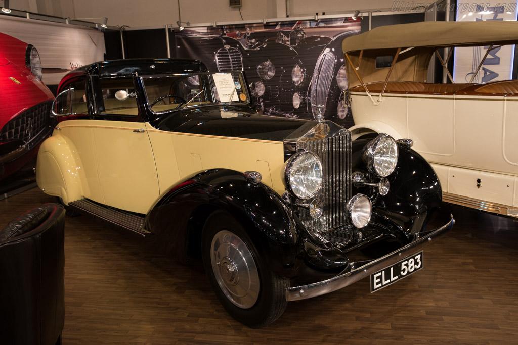 Rolls-Royce 25/30 hp Gurney Nutting Coupe de Ville    - 2015 Techno Classica