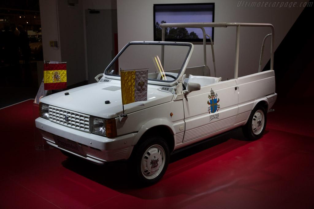 Seat Panda Marbella Popemobile  - Entrant: Seat  - 2015 Techno Classica