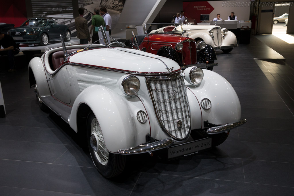 Wanderer W25K  - Entrant: Audi Mobile Tradition  - 2015 Techno Classica