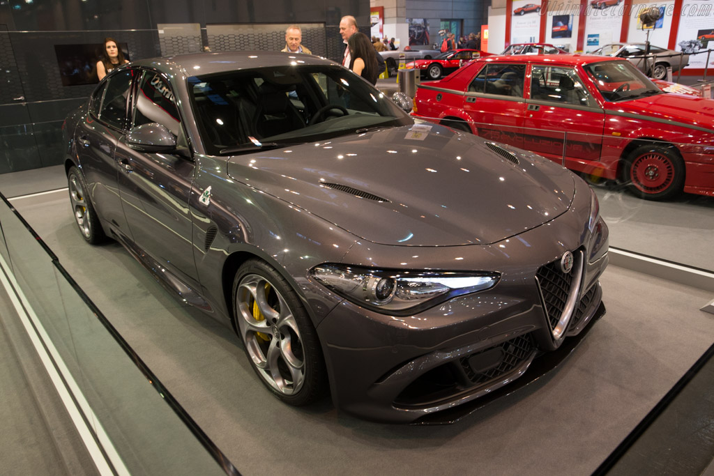 Alfa Romeo Giulia QV    - 2016 Techno Classica