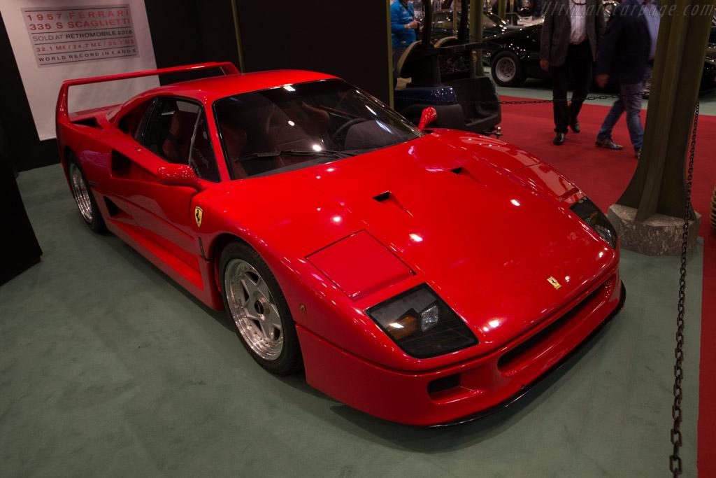 Ferrari F40    - 2016 Techno Classica