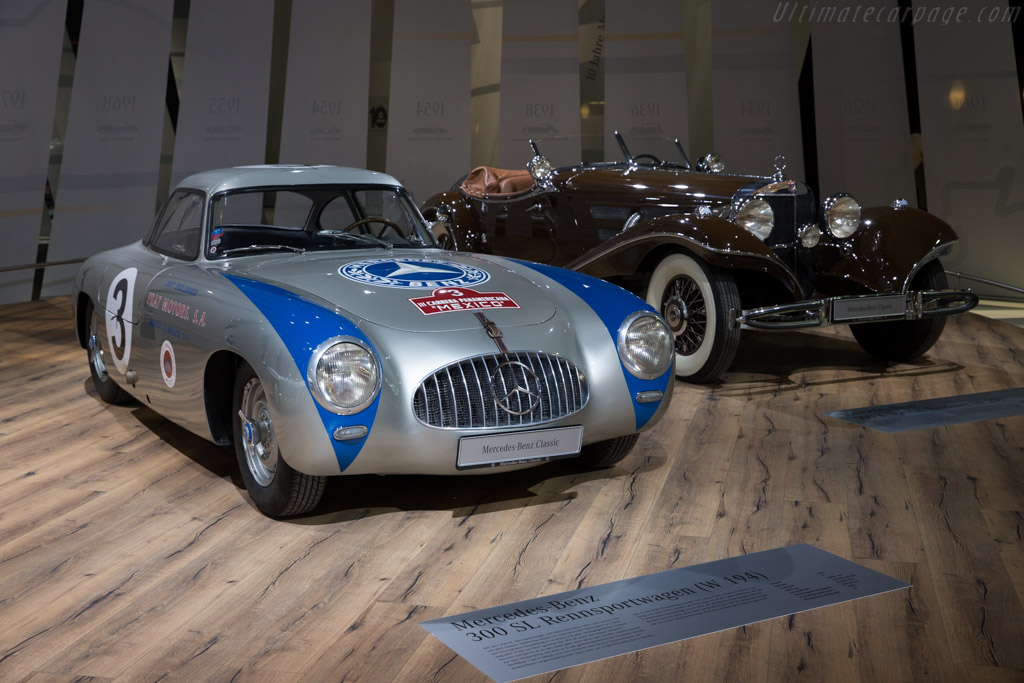 Mercedes-Benz 300 SL Competition Coupe - Chassis: 000 05/52   - 2016 Techno Classica