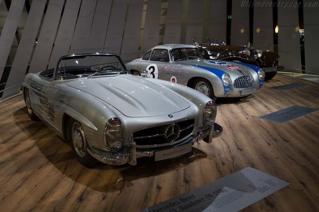 Mercedes-Benz 300 SL Roadster    - 2016 Techno Classica