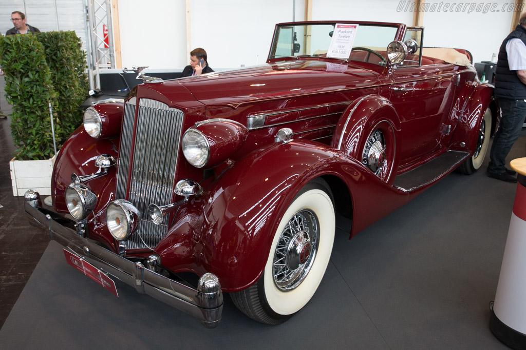 Packard Twelve    - 2016 Techno Classica