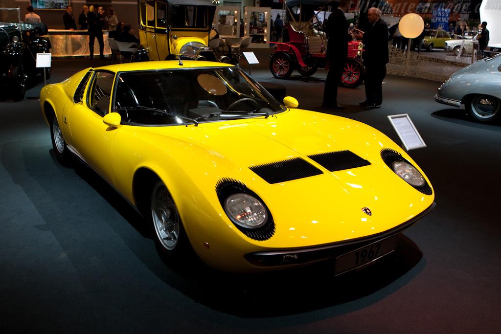 Lamborghini Miura    - 2009 Techno Classica