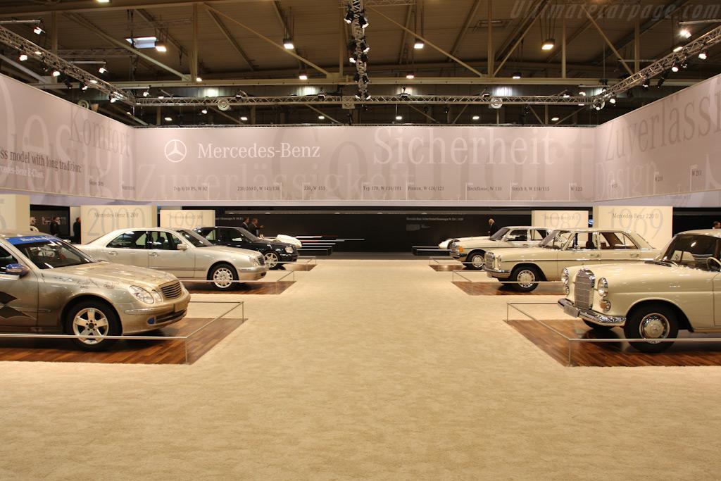 Mercedes-Benz E-Class over the years    - 2009 Techno Classica