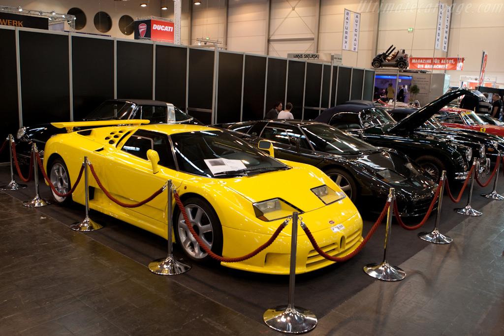 Schumi's Bugatti EB110 SS    - 2009 Techno Classica