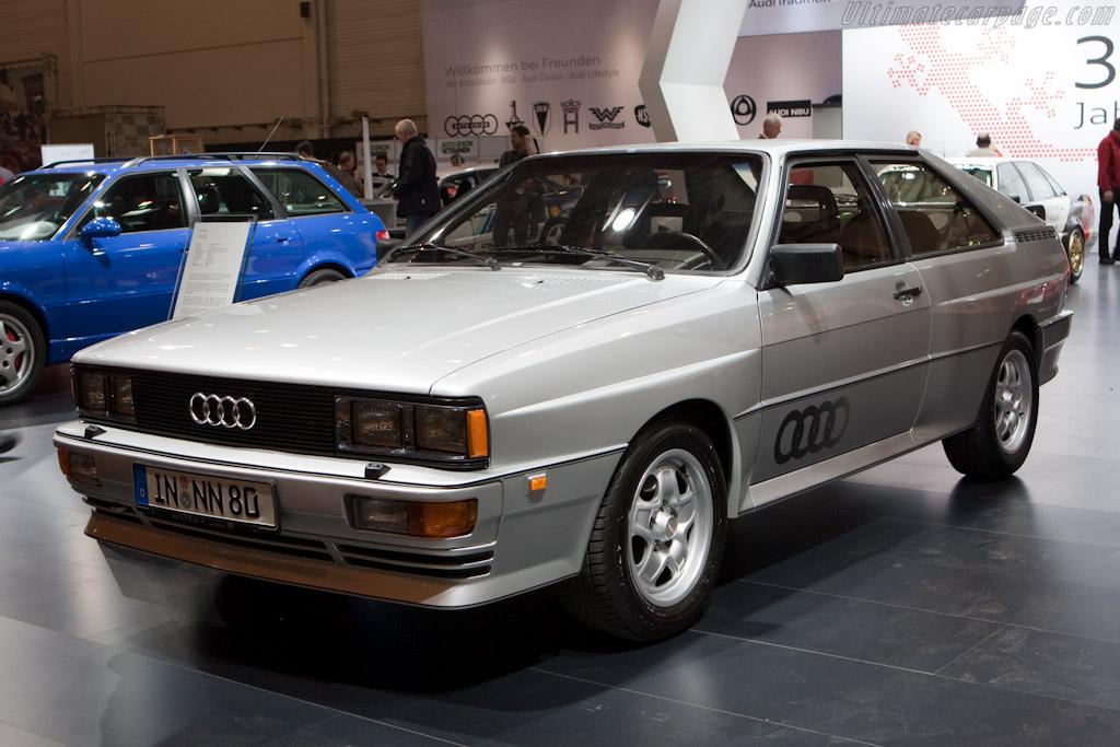 Audi Quattro    - 2010 Techno Classica