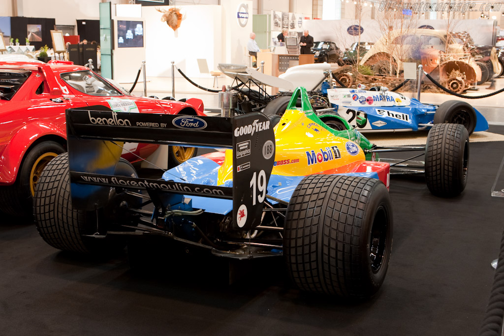 Benetton B188 Ford - Chassis: B188-01   - 2010 Techno Classica