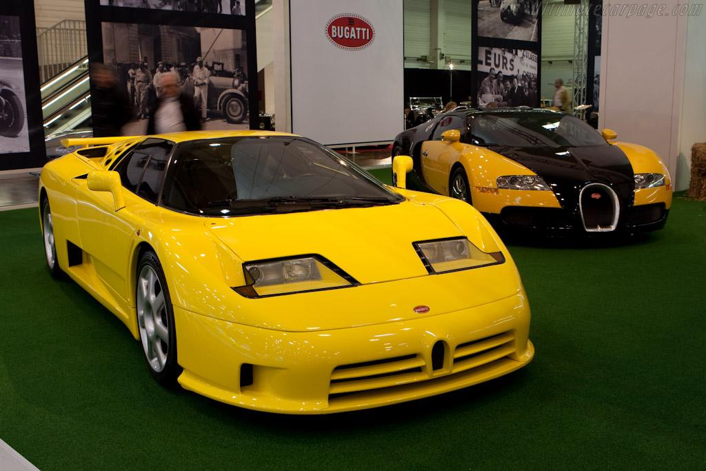 Bugatti EB 110 SS    - 2010 Techno Classica