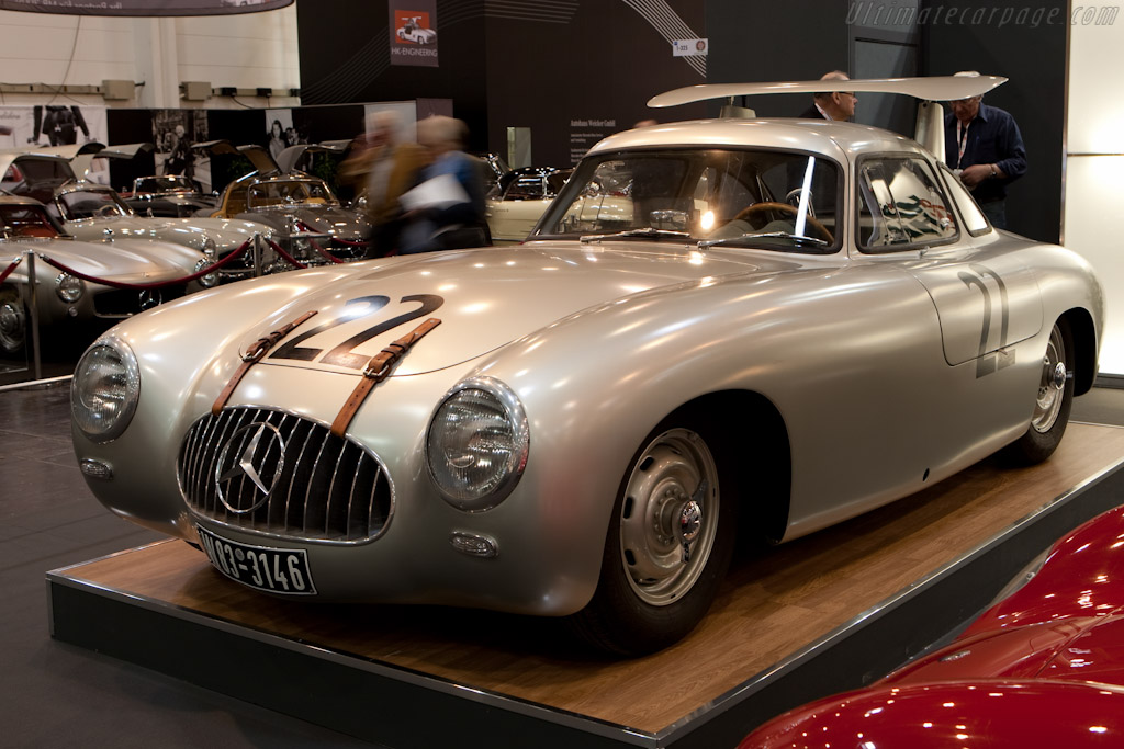 Mercedes-Benz 300 SL Competition Coupe - Chassis: 000 06/52   - 2010 Techno Classica