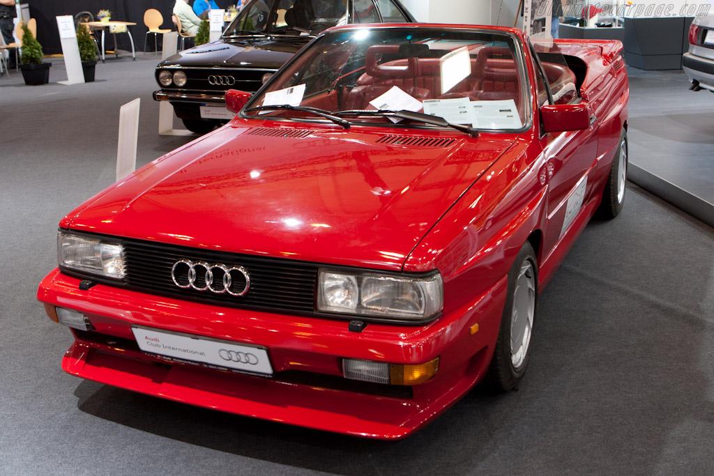 Audi Quattro Treser Cabriolet    - 2011 Techno Classica
