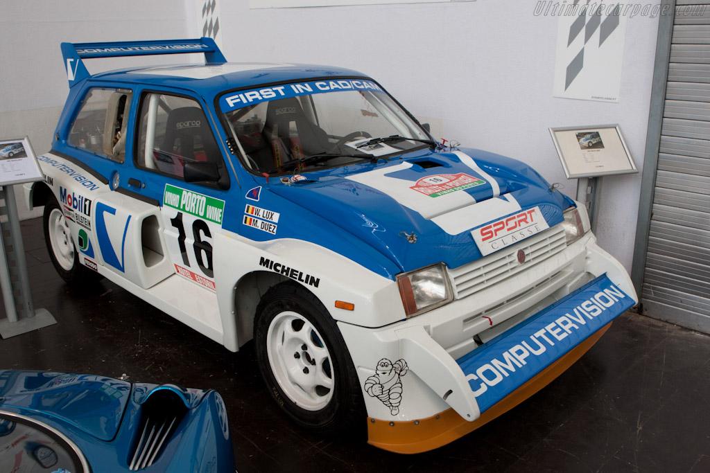 MG Metro 6R4    - 2011 Techno Classica