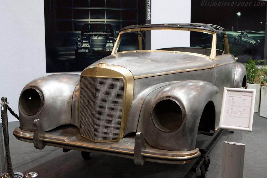 Restoration in progress   - 2011 Techno Classica