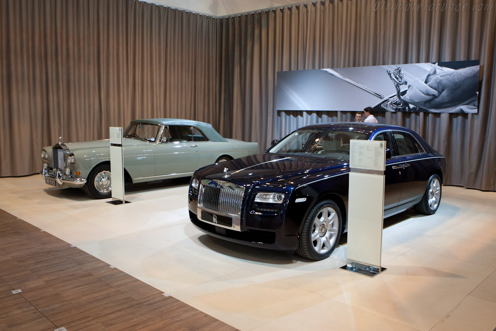 Rolls-Royce Ghost    - 2011 Techno Classica
