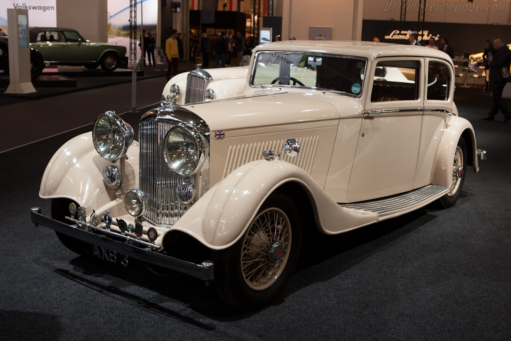 Bentley 3.5 Litre Saloon    - 2012 Techno Classica