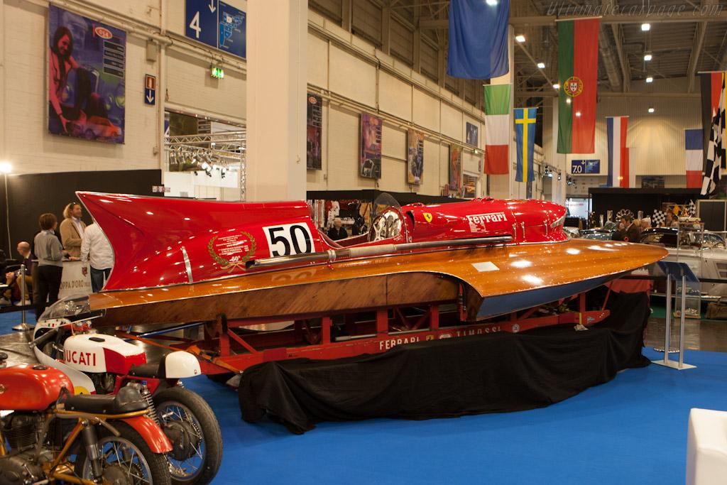 Ferrari Boat    - 2012 Techno Classica
