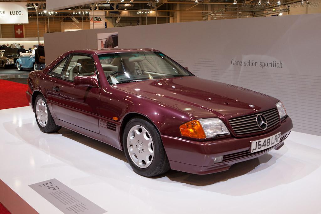 Mercedes benz sl 500 2012 techno classica for Mercedes benz lease return
