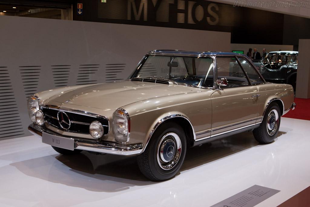 Mercedes-Benz W113 SL    - 2012 Techno Classica