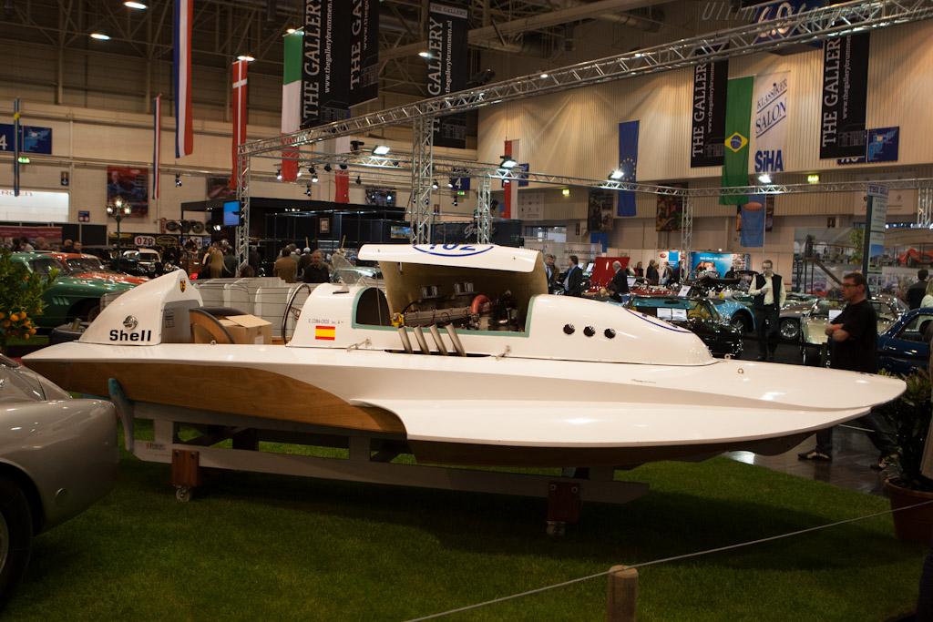 Pegaso Z102 Boat    - 2012 Techno Classica