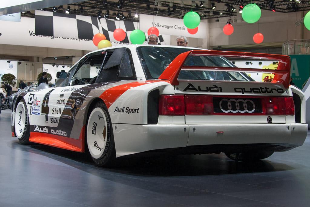 Audi 90 Quattro IMSA GTO - Chassis: WAUZZZ89ZKA000004   - 2014 Techno Classica