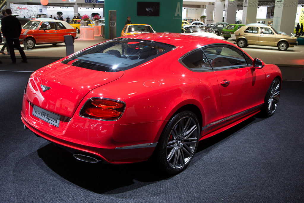 Bentley Continental GT Speed    - 2014 Techno Classica