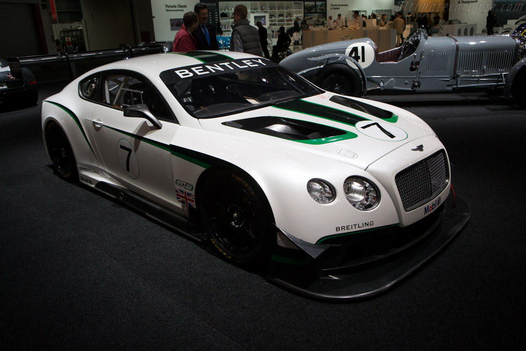 Bentley Continental GT3    - 2014 Techno Classica