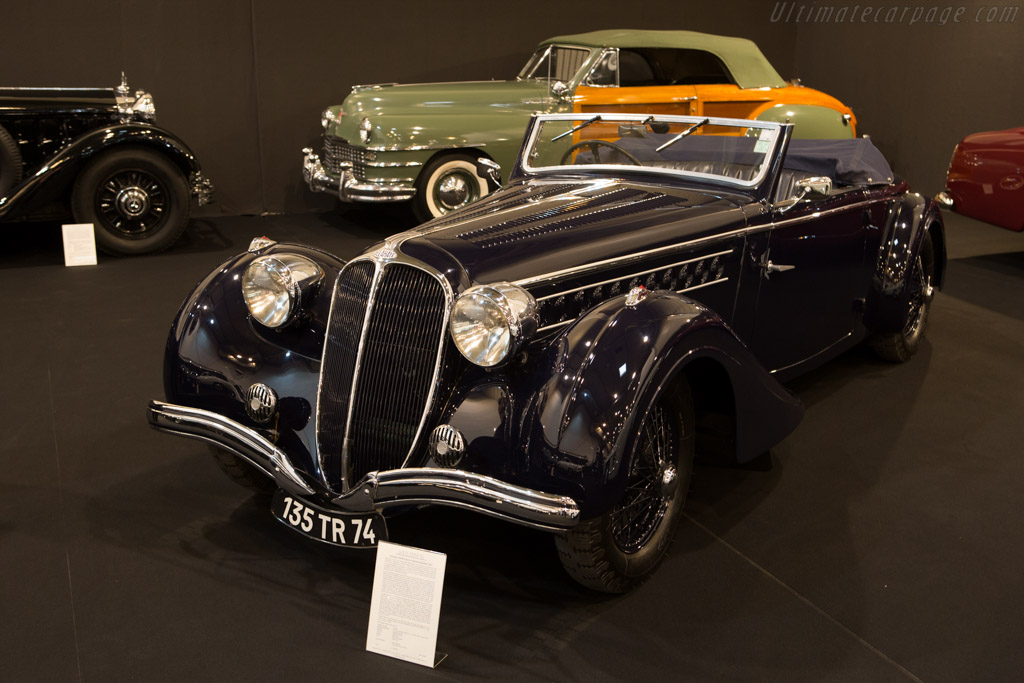 Delahaye 135 M Chapron Cabriolet - Chassis: 47538   - 2014 Techno Classica